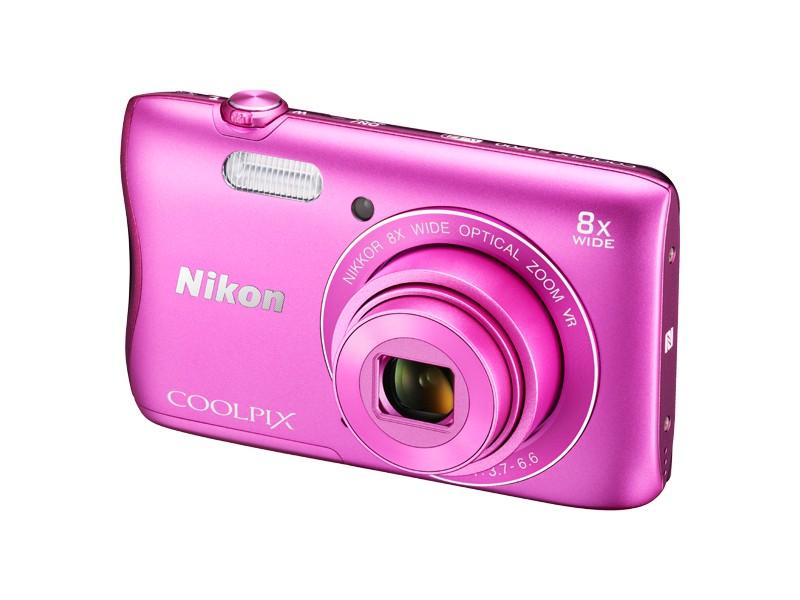 Digitálny kompakt Nikon COOLPIX S3700 pink