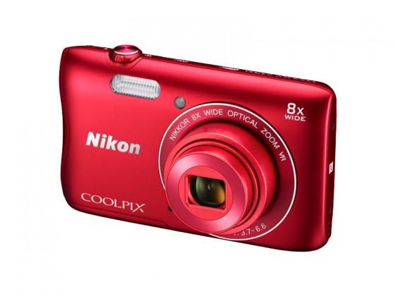 Digitálny kompakt Nikon COOLPIX S3700 red