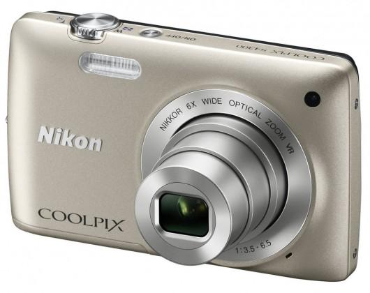 Digitálny kompakt  Nikon Coolpix S4300 Silver
