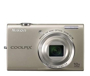 Digitálny kompakt  Nikon Coolpix S6200 Silver