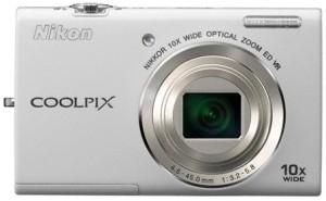 Digitálny kompakt  Nikon Coolpix S6200 White