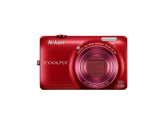 Digitálny kompakt  Nikon Coolpix S6300 Red