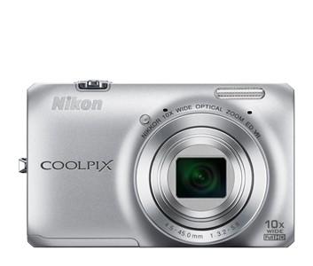Digitálny kompakt  Nikon Coolpix S6300 Silver