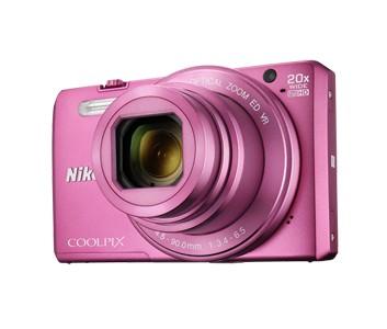 Digitálny kompakt Nikon COOLPIX S7000 pink