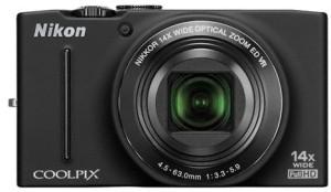 Digitálny kompakt  Nikon Coolpix S8200 Black