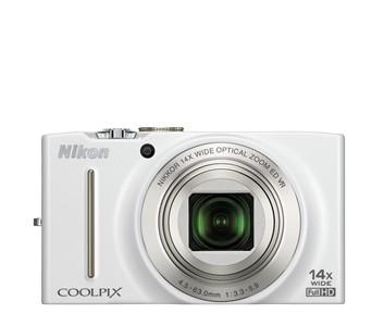 Digitálny kompakt  Nikon Coolpix S8200 White