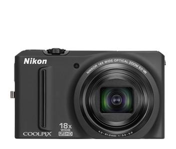 Digitálny kompakt  Nikon Coolpix S9100 Black