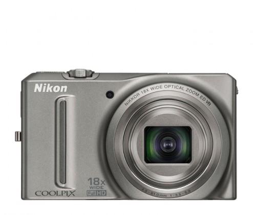 Digitálny kompakt  Nikon Coolpix S9100 Silver