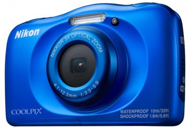 Digitálny kompakt Nikon Coolpix W100 Blue