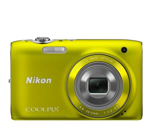 Digitálny kompakt Nikon CPS3100 Yellow