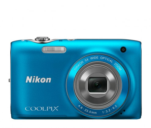 Digitálny kompakt Nikon CPS3100BLUE