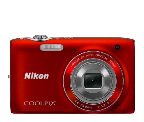 Digitálny kompakt Nikon CPS3100RED
