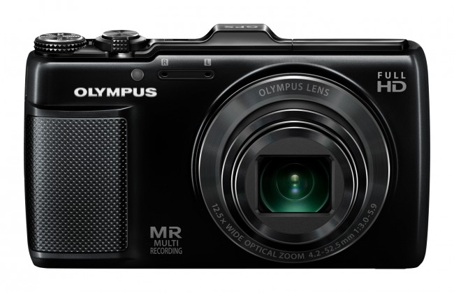 Digitálny kompakt  Olympus SH-25MR Black