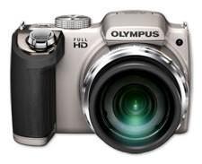 Digitálny kompakt  Olympus SP-720 - 14 MP, 26x zoom iS - Silver
