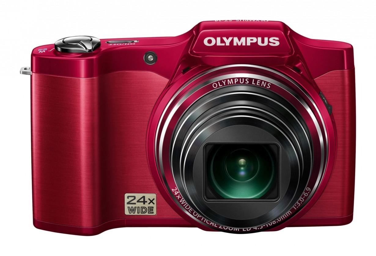 Digitálny kompakt  Olympus SZ-14 Red