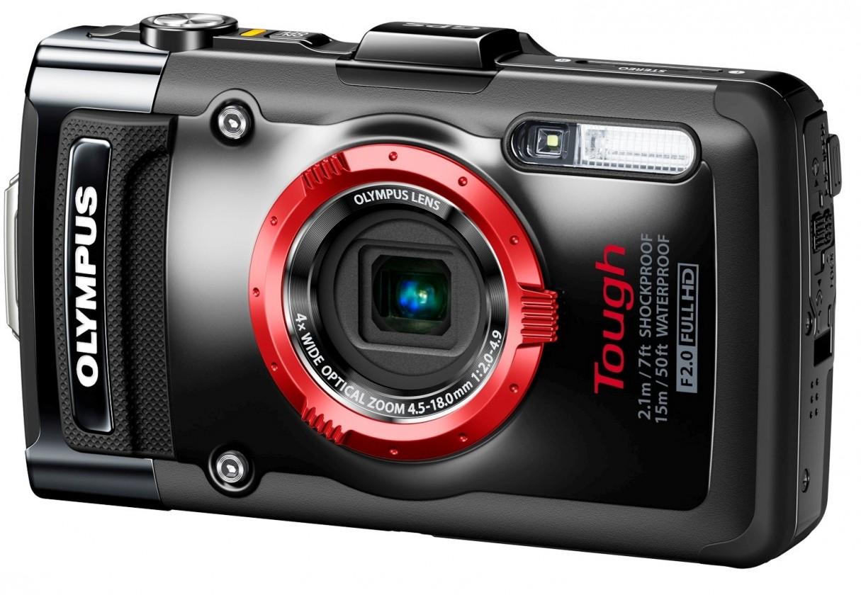 Digitálny kompakt  Olympus TG-2 Black