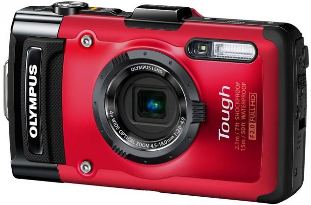 Digitálny kompakt  Olympus TG-2 Red