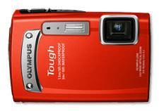 Digitálny kompakt  Olympus TG-320 Red