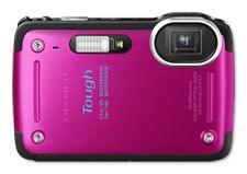 Digitálny kompakt  Olympus TG-620 Pink