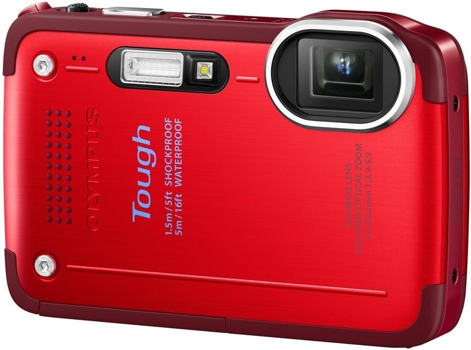 Digitálny kompakt  Olympus TG-630 Red