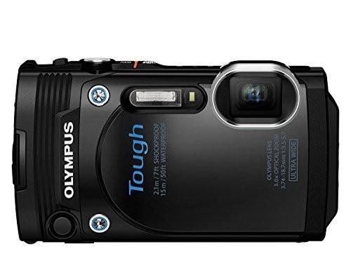 Digitálny kompakt Olympus TOUGH TG-860 čierny