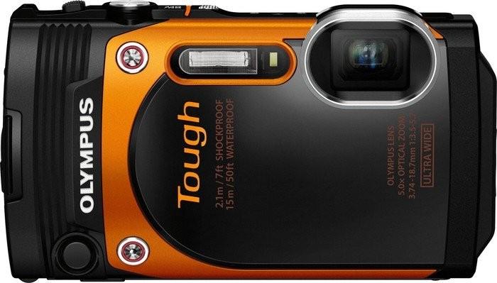 Digitálny kompakt Olympus TOUGH TG-860 oranžový