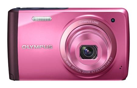 Digitálny kompakt  Olympus VH-410 - 16 MP, 5x zoom iS - Pink