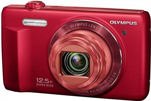 Digitálny kompakt  Olympus VR-370 - 16 MP, 12,5x zoom iS - Red