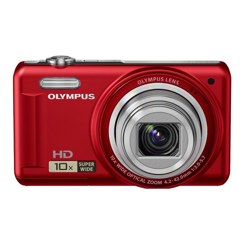 Digitálny kompakt Olympus VR310RED