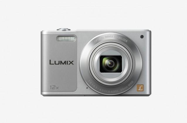 Digitálny kompakt Panasonic LUMIX DMC-SZ10 strieborny