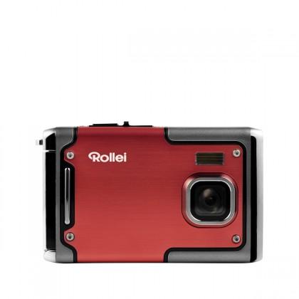 Digitálny kompakt Rollei Sportsline 85 outdoor sportovní kamera, červená