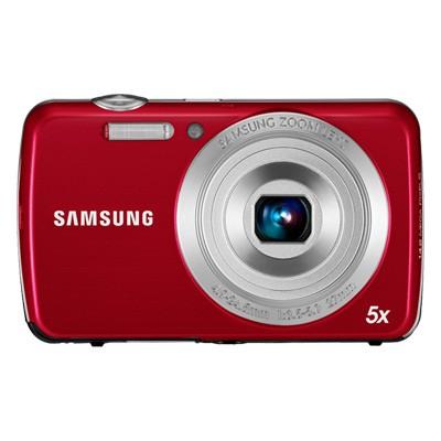 Digitálny kompakt Samsung EC-PL20, červený