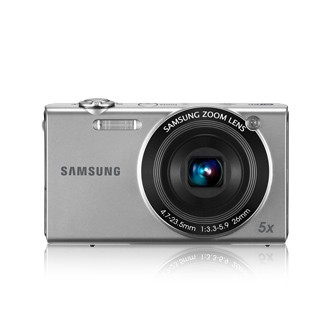 Digitálny kompakt Samsung EC-SH100, strieborný