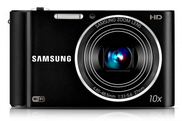 Digitálny kompakt Samsung EC-ST200, čierny