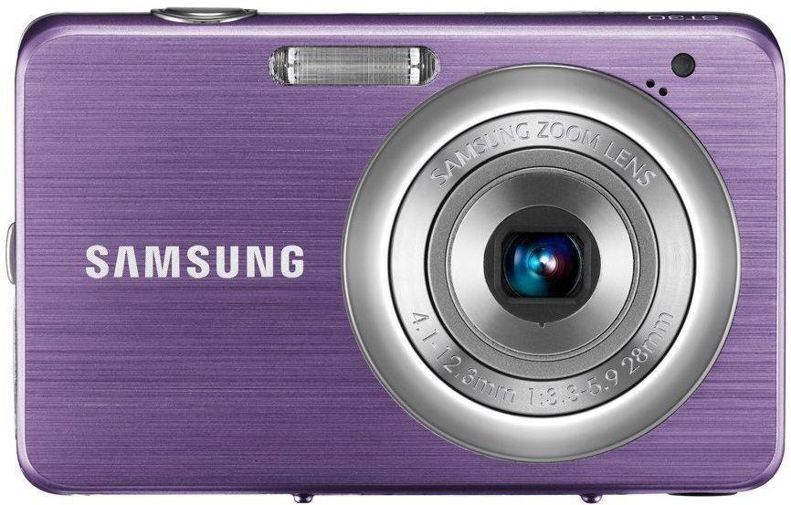 Digitálny kompakt Samsung EC-ST30, fialový