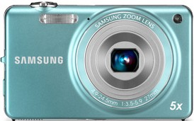 Digitálny kompakt Samsung EC-ST65, modrý