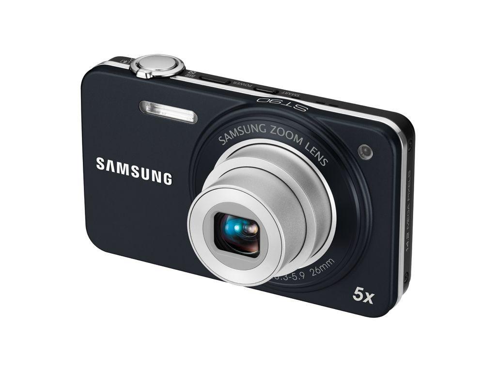 Digitálny kompakt Samsung EC-ST90, čierny