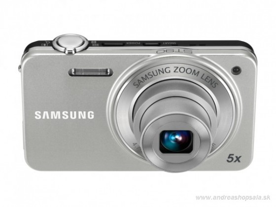 Digitálny kompakt Samsung EC-ST90, strieborný