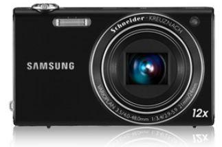 Digitálny kompakt Samsung EC-WB210, čierny