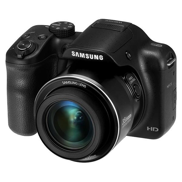 Digitálny kompakt Samsung WB1100F, čierny