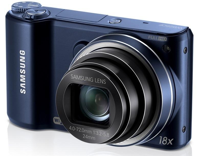 Digitálny kompakt Samsung WB250, čierny