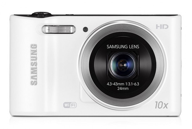 Digitálny kompakt Samsung WB30F, biely