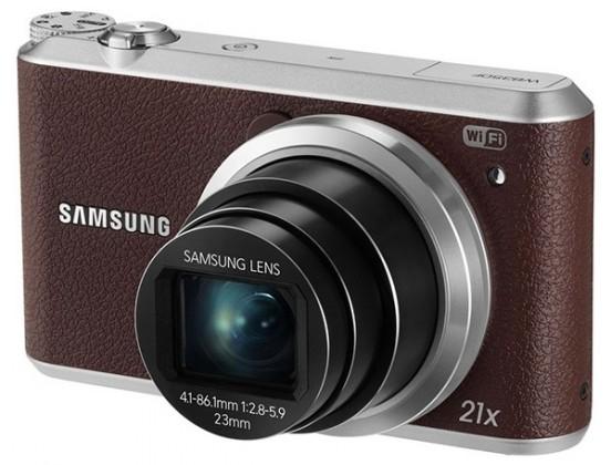 Digitálny kompakt Samsung WB350F, hnedý