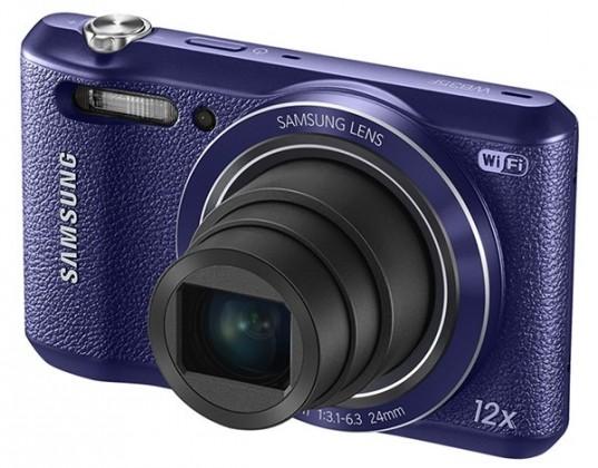 Digitálny kompakt Samsung WB35F, fialový