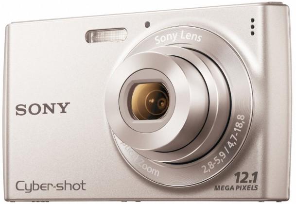 Digitálny kompakt  Sony Cyber-Shot DSC-W510 Silver