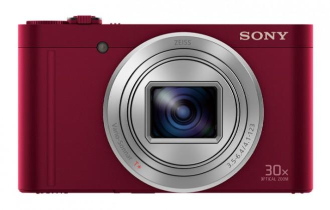Digitálny kompakt Sony Cyber-Shot DSC-WX500 RED