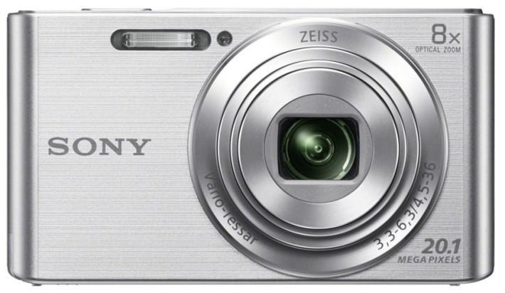 Digitálny kompakt Sony CyberShot DSC-W830 silver