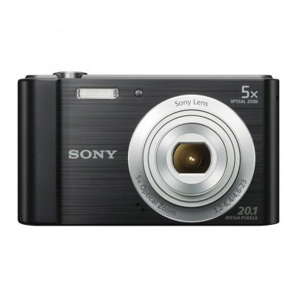 "Digitálny kompakt SONY DSC-W800B 20,1 MP, 5x zoom, 2,7 "" LCD - BLACK, POUŽITÝ"