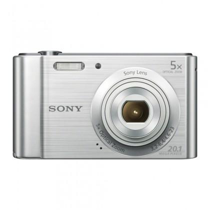 """Digitálny kompakt SONY DSC-W800S 20,1 MP, 5x zoom, 2,7 """" LCD - Silver"""