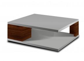 Diva - konferenčný stolík (biela/orech)
